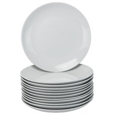 """10.5"""" Coupe Dinner Catering Plate (Set of 12)"""