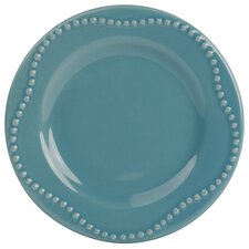 Nova Round Beaded 19 Piece Dinnerware Set