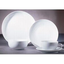 Royal Coupe White Dinnerware Collection