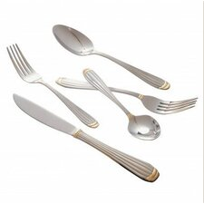 Parisian Gold Stainless Steel Dinner Fork (Set of 4)