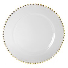 """Belmont Gold 13"""" Charger Plate"""