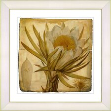 Vintage Botanical No 07A by Zhee Singer Framed Giclee Print Fine Wall Art