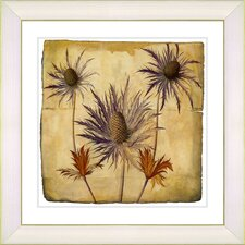 Vintage Botanical No. 55A by Zhee Singer Framed Giclee Print Fine Wall Art