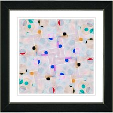 """Snowflake Symmetry"" by Zhee Singer Painting Print"