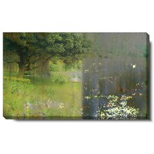 """Midnight Garden"" Gallery Wrapped by Zhee Singer Painting Print on Canvas"