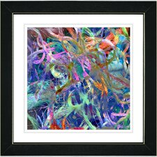 """Tangle"" by Zhee Singer Framed Fine Art Giclee Painting Print"