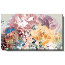 """Pastel Scented Bloom"" Gallery Wrapped by Zhee Singer Painting Print on Canvas"