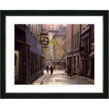 """Old Town"" by Mia Singer Framed Fine Art Giclee Photographic Painting Print"