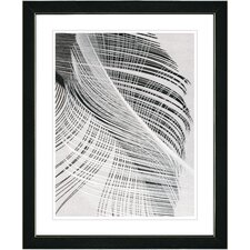 """Dancing Feathers"" by Zhee Singer Framed Painting Print"