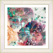 """Scented Bloom"" by Zhee Singer Framed Fine Art Giclee Painting Print"