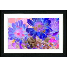 """""""May Daisies"""" by Zhee Singer Framed Graphic Art"""
