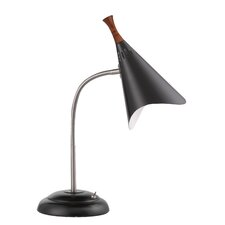 "Nia 18.5"" H Table Lamp with Novelty Shade"