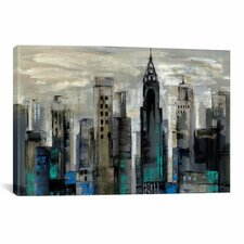 New York Moment Canvas Art By Silvia Vassileva
