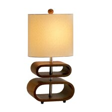 "Cooper 19.5"" H Table Lamp with Drum Shade"
