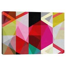 View Through a Kaleidoscope Canvas Art