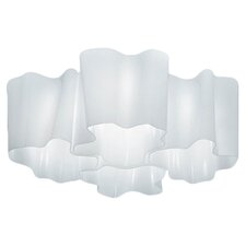 Logico Quadruple Nested Semi Flush Mount
