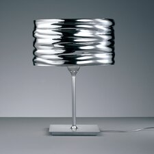 """Aqua Cil 14.56"""" H Table Lamp with Drum Shade"""
