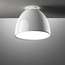 Nur Mini Gloss Ceiling Semi Flush Mount