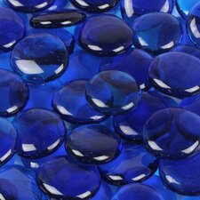 5 lbs of  Glass Gems in Caribbean Blue