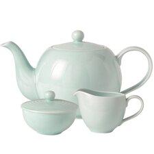 Maze 3-Piece Stoneware Tea Set