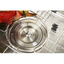 """Gravena 43.75"""" x 23"""" Undermount Corner Double Bowl Kitchen Sink"""