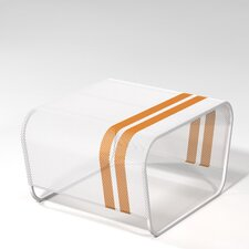 Lami Perforated Stainless Steel Side Table