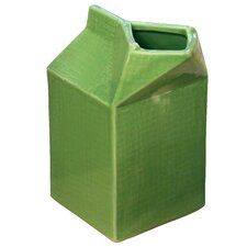 Farm to Table Ceramic Milk Carton