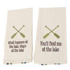 Lake Dish Towel (Set of 2)