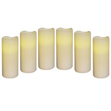Flameless Candle (Set of 6)