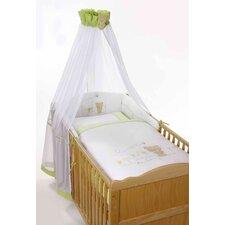 4-tlg. Babybettwäsche-Set Honeybear