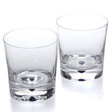 Intermezzo 11 Oz. Double Old Fashioned Glass (Set of 2)