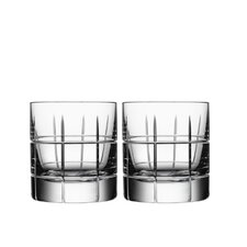 Street Old Fashioned Glass Set (Set of 2)