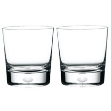 Intermezzo Satin Double Old Fashioned Glass (Set of 2)