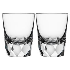 Carat Double Old Fashioned Glass (Set of 2)