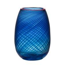 Red Rim Vase