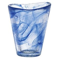 Mine Blue Tumbler Glass