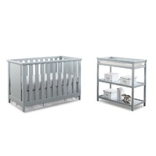 Casey 3-1 Convertible 2 Piece Crib Set