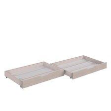 2-tlg. Unterbettschublade