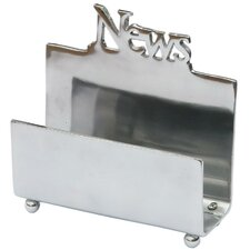 Aluminium Newspaper Holder