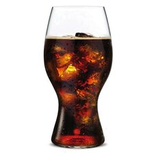 """O"" Coca Cola Glass (Set of 2)"