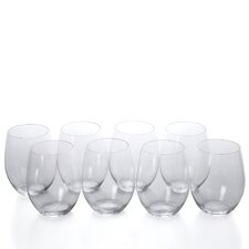 """O"" Cabernet/Merlot Red Wine Glass (Set of 8)"