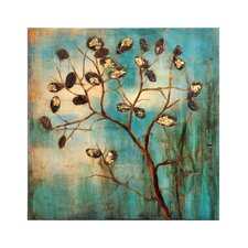 Autumn Tree Painting Print on Wrapped Canvas