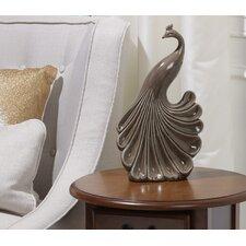 Ceramic Peacock Figurine