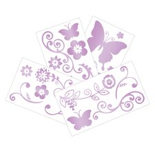 Butterfly Lane Wall Decal