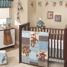 Giggles 5 Piece Crib Bedding Set