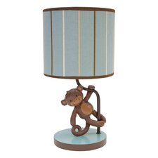 "Giggles 11"" H Table Lamp with Drum Shade"