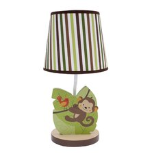 """Jungle Buddies 10.5"""" H Table Lamp with Empire Shade"""
