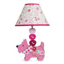 """Puppy Tales 16.5"""" H Table Lamp with Empire Shade"""
