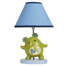 """Alpha Baby 15"""" H Table Lamp with Empire Shade"""