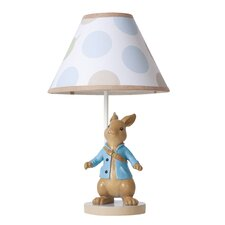 """Peter Rabbit 16"""" H Table Lamp with Empire Shade"""